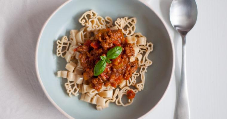Zelfgemaakte pastasaus met verse tomaat