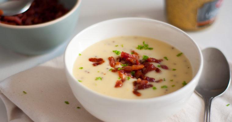Mosterdsoep en de basis voor gebonden soep