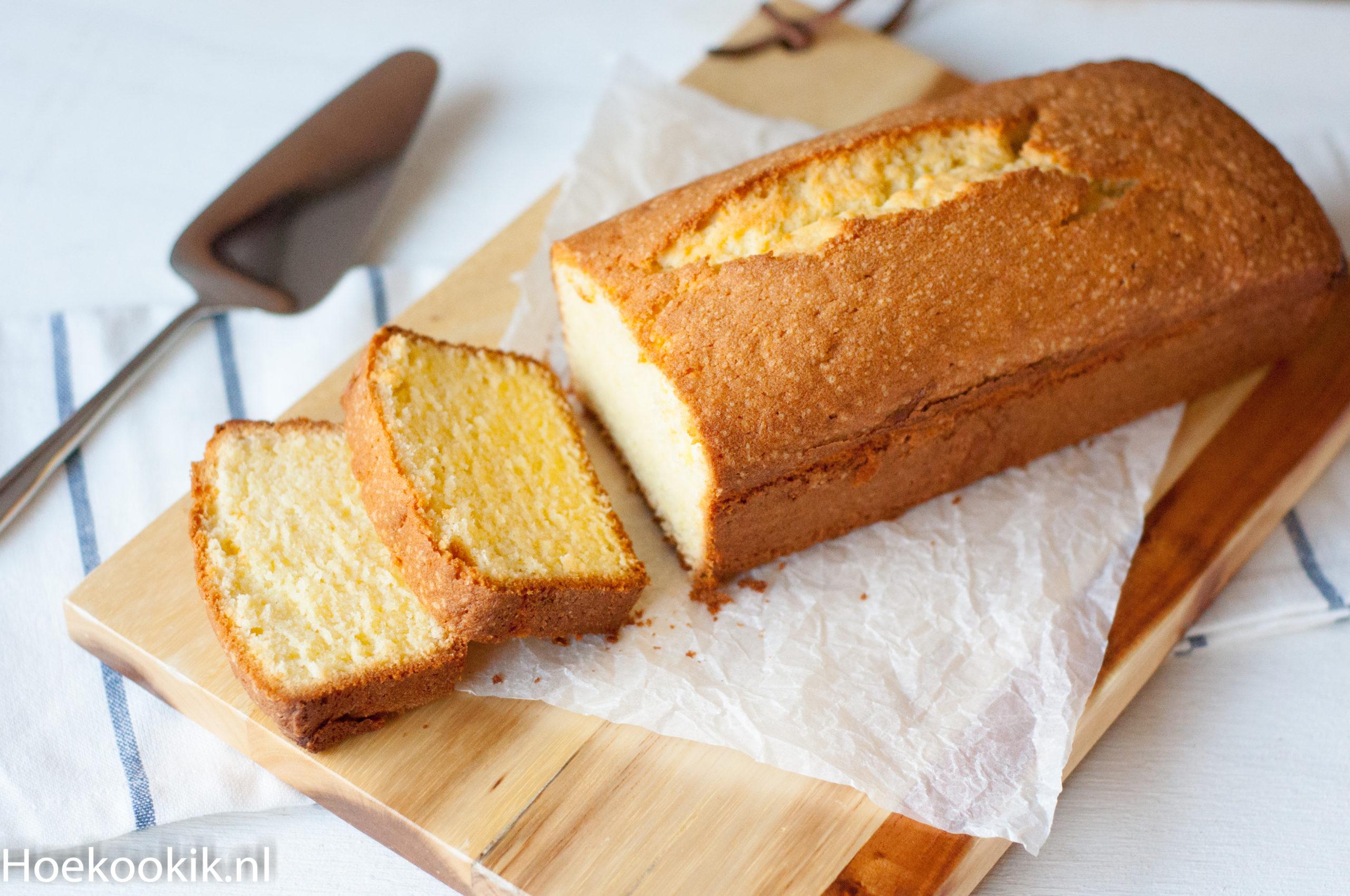 Basisrecept voor gewone cake