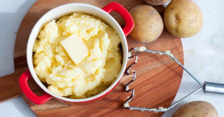 Aardappelpuree zelf maken
