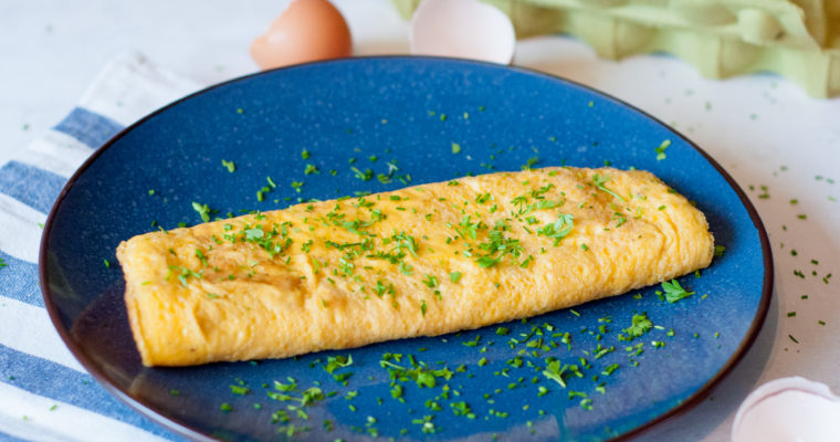 Basisrecept voor omelet met 5 variatie-ideeën.